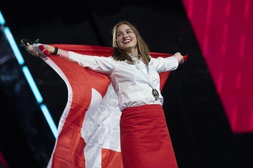 Holt Silber für die Schweiz: Daniela Ziller aus Oberschrot FR. (Bild: SwissSkills)