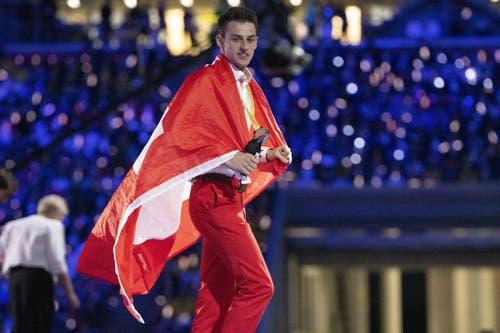 Holt Gold für die Schweiz: Renato Meier aus Sengen, AG (Bild: SwissSkills)