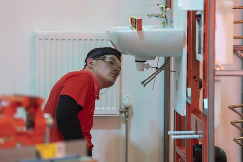 Sanitär- und Heizungsinstallateur Patrick Grepper. (Bild: SwissSkills)