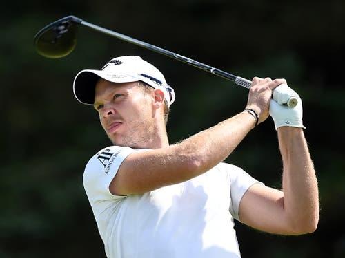 Danny Willett, wie Matthew Fitzpatrick aus Sheffield stammend, gewann in seiner besten Zeit das Omega European Masters 2015 und das US Masters in Augusta 2016. Nach einer Baisse geht es mit ihm wieder steil aufwärts (Bild: KEYSTONE/EPA/FACUNDO ARRIZABALAGA)