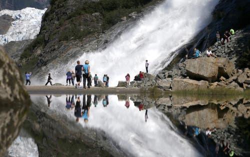 17 Prozent der Bevölkerung im Südosten Alaskas sind vom Tourismus abhängig, der mit dem Tongass National Forest zusammenhängt (Bild: Keystone/Spiegel Online/Washington Post)