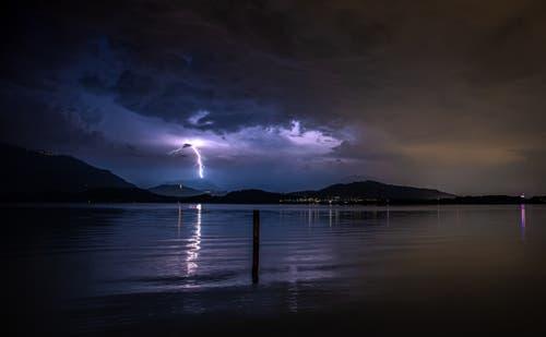 Blitzeinschlag ins Stanserhorn? (Bild: Daniel Hegglin, 28. August 2019)