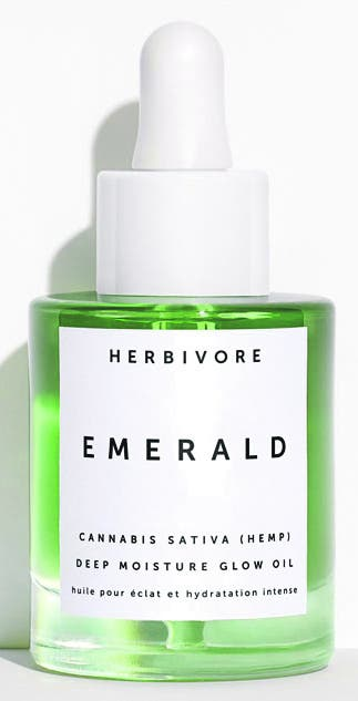 Für die Umweltbewussten Das Emerald-Oil des veganen Kosmetiklabels Herbivore beruhigt die Haut und befeuchtet. 65 Franken