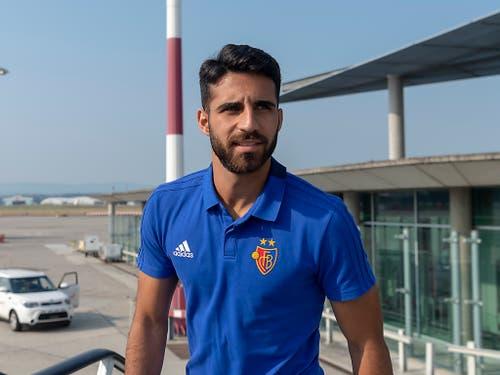 FCB-Innenverteidiger Eray Cömert darf sich dafür Hoffnungen auf seinen ersten Einsatz mit der Nationalmannschaft machen (Bild: KEYSTONE/GEORGIOS KEFALAS)