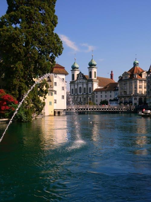Herbststimmung in Luzern. (Bild: Walter Buholzer, 29. August 2019)