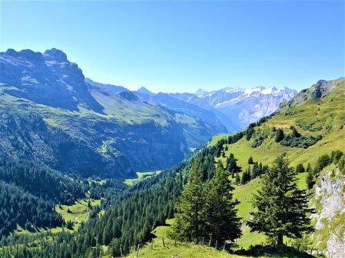 Traumhafte Bergkulisse. (Bild: Urs Gutfleisch, Tannalp, 26. August 2019)