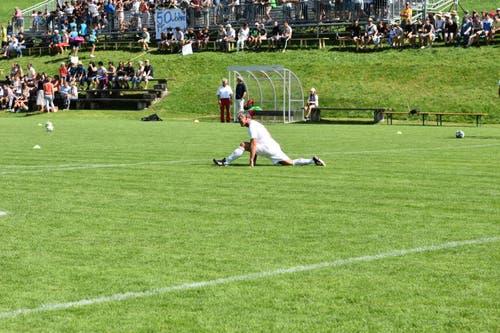 Am Samstag hat der FC Urnäsch gegen die Suisse Legends gespielt - ein Team aus ehemaligen Nationalspielern. (Bilder: Alessia Pagani)