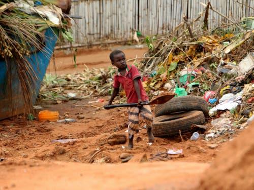 Mosambik gilt als eines der ärmsten Länder der Erde. (Bild: KEYSTONE/AP/TSVANGIRAYI MUKWAZHI)