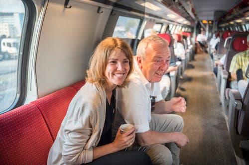 Andrea und Marco Sacchetti. (Bild: Andrea Stalder)