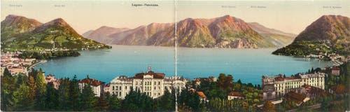 War schon im frühen 20. Jahrhundert ein beliebtes Ausflugsziel: das Tessin.