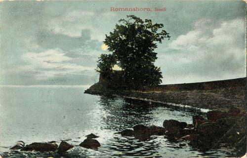 Eine Postkarte von Romanshorn von 1906.