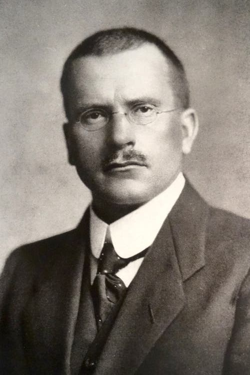 Carl Gustav Jung (1875–1961) Psychiater, Psychologe, Begründer der analytischen Psychologie.