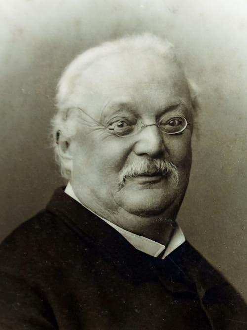 Conrad Ferdinand Meyer (1825–1898) Schriftsteller und Dichter. Bild: EinDao Wikipedia