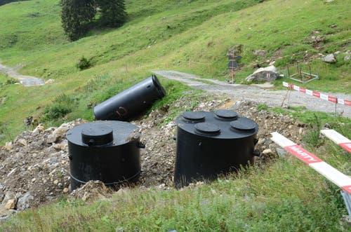 Die neue Wasseraufbereitungsanlage.