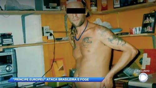 Der Zofinger Bauarbeiter R. U. wird seit Jahren von der brasilianischen Polizei gesucht.(Bild: Screenshot Fernsehsender R7)