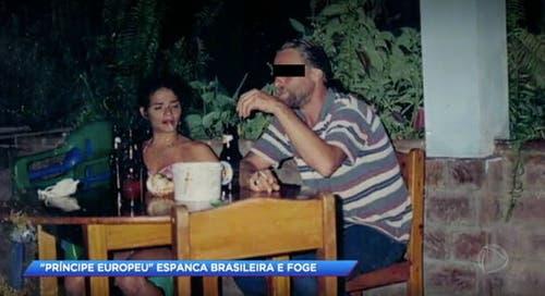 Ein Foto aus alten Tagen: Die Brasilianerin trennte sich 2004nach sieben Jahren von R.U. (Bild: Screenshot Fernsehsender R7)