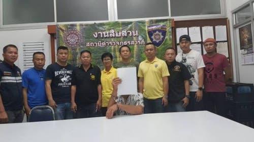 Der Zofinger R.U. wurde am 21. Juli in Saraphi (Thailand) verhaftet. (Bild: Saraphi Police)