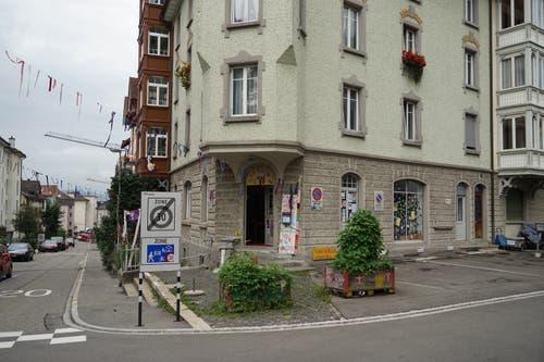 Das Kinderlokal «Ti-Rumpel» an der Stahlstrasse.
