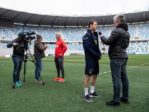 Zudem herrscht Unklarheit in der Captain-Frage: Stephan Lichtsteiner erhielt zuletzt kein Aufgebot mehr von Petkovic (Bild: KEYSTONE/ENNIO LEANZA)