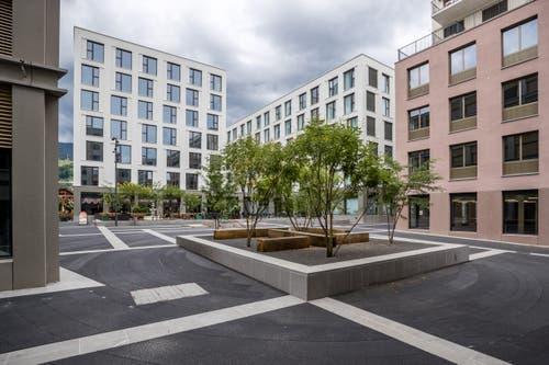 Der Asphalt im Quartier hat ein Geheimnis... (Bild: Philipp Schmidli, Kriens 27. Juli 2019)