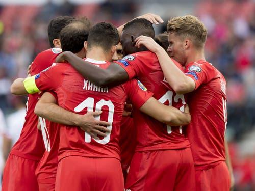 Sportlich befindet sich die Schweiz in der EM-Qualifikation allerdings auf Kurs (Bild: KEYSTONE/LAURENT GILLIERON)