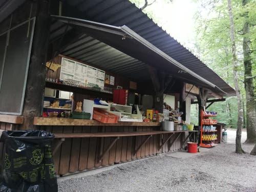 Die Romanshorner Waldschenke. (Bild: Sheila Eggmann)