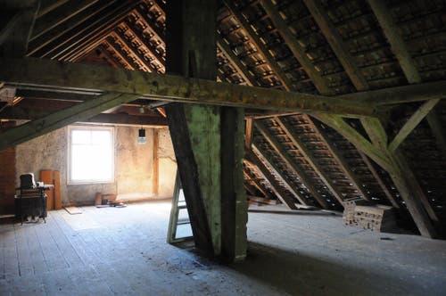 Der im Jahr 1926 neu gebaut Dachstock. (Bild: Michael Hug)