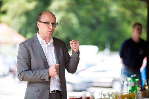 : Er ist Biologe und Naturfan – und überall engagiert, wo es spannend ist: CVP-Nationalrat und Hobby-Musiker Stefan Müller-Altermatt. (Bild: Thomas Ulrich und Tina Dauwalder)