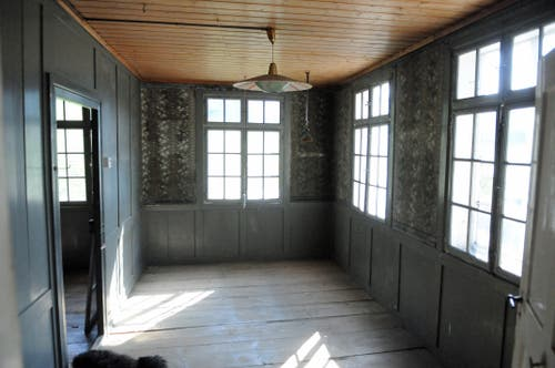 Historisches Schlafzimmer im 2. Stock. (Bild: Michael Hug)