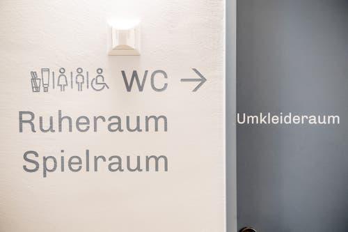 Ein Rundgang durch das umgebaute Schulhaus Konstanz in Rothenburg. (Bild: Nadia Schärli, 6. September 2019)