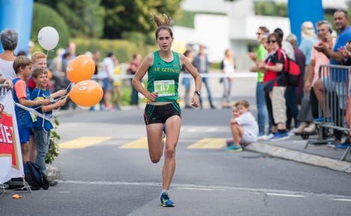 Die Siegerin bei den Frauen: Flavia Stutz. (Bild: Eveline Beerkircher, Littau, 14. September 2019)