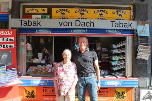 Für Sohn Mario Von Dach, den Betrieber des Kiosks, geht die Rechnung schon lange nicht mehr auf.