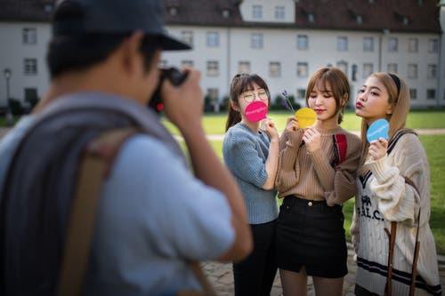 Red Velvet zu Besuch in St.Gallen. (Bild: Benjamin Manser)