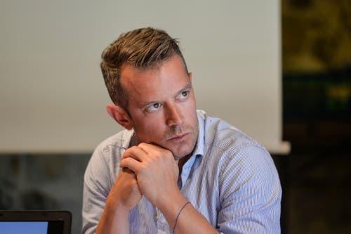 ...Matthias Fuchs, Stabschef der Direktion Bau und Planung.