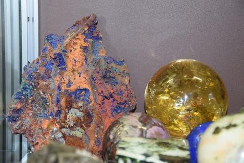 Farbliches Potpourri: Jedes Gestein ist einzigartig.