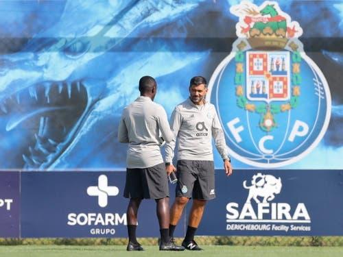 Der erste Gegner von YB in der Europa League ist ein Grosser: Im Dragão-Stadion in Porto stehen die Berner noch nicht unter Druck (Bild: KEYSTONE/EPA LUSA/JOSE COELHO)