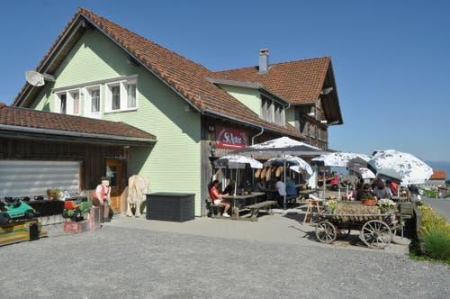 Das Restaurant St.Anton.