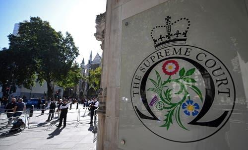 Der UK Supreme Court. (Bild: Keystone)