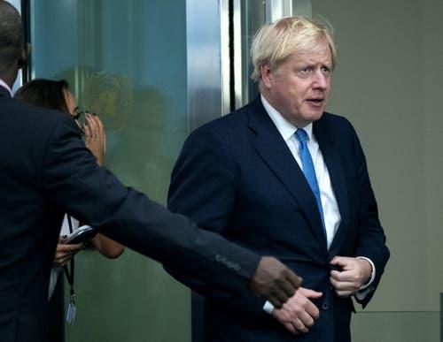 Der britische Premierminister Boris Johnson. (Bild: Keystone)