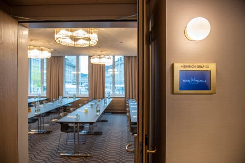 Im Hotel Walhalla sollen auch Seminare stattfinden. (Bild: Urs Bucher)