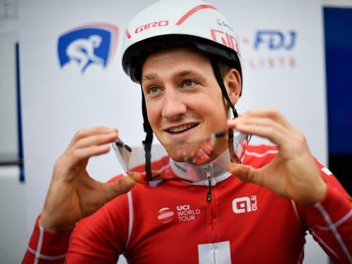 Aushängeschild des Schweizer Radsports: Stefan Küng (Bild: KEYSTONE/GIAN EHRENZELLER)