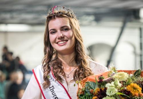 Gewinnerin Larissa Häberli. (Bild:Andrea Stalder)