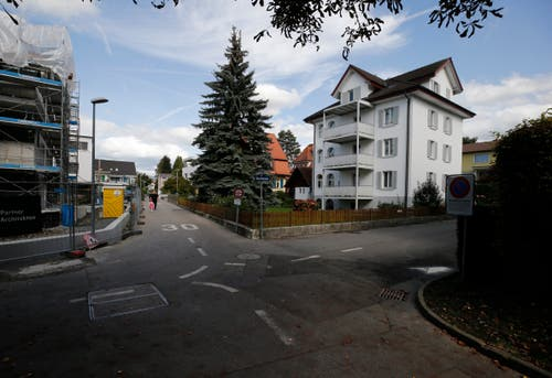 Bleichimattweg/ Bleichistrasse (Bild: Stefan Kaiser, Zug, 28. September 2019)