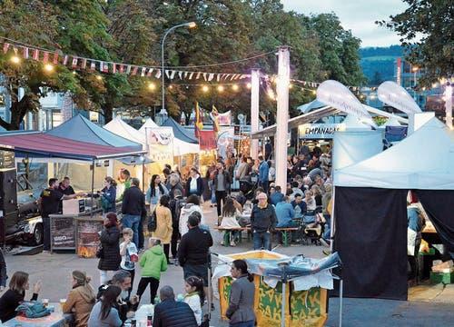 Das World Food Festival verbindet Generationen sowie Nationen mit Genuss und Gemütlichkeit. Bilder: Christoph Heer