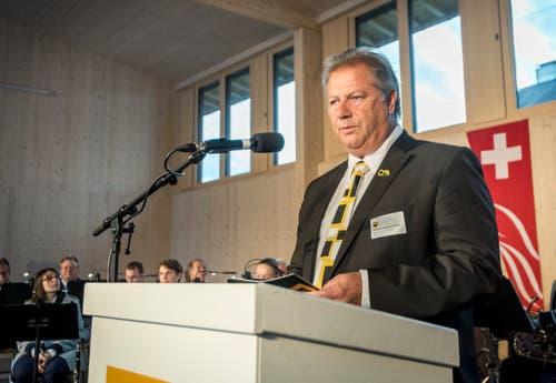 Impressionen von der Einweihung des neuen Werkhofs in Matzingen.