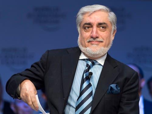 Abdullah Abdullah hat sich nach der Präsidentenwahl in Afghanistan zum Sieger erklärt. (Bild: KEYSTONE/LAURENT GILLIERON)