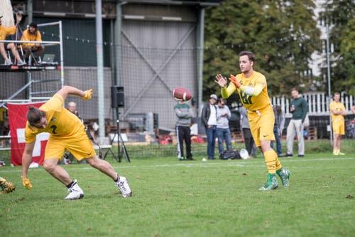 Inzwischen gehören die Luzern Pikes zu den Grossen der Liga. (Bild: Manuela Jans-Koch, Luzern, 28. September 2019)