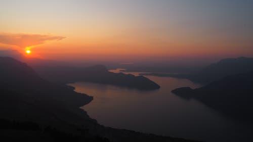 Sonnenuntergang auf dem Niederbauen. (Bild: Franz Stalder, 30. August 2019)
