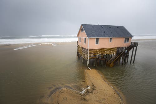 Nags Head, North Carolina. (Bild: EPA/JIM LO SCALZO)
