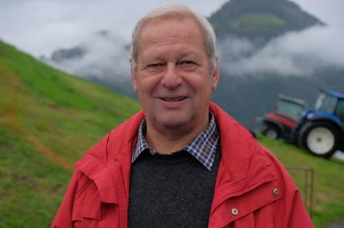 Werner Barmettler, Buochs: «Es ist schade, dass drei so gute Schwinger in diesem Alter bereits zurücktreten.» (Bild: Richard Greuter, Ennetmoos, 8. September 2019)